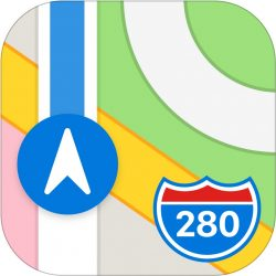 Apple Maps Logo Icon