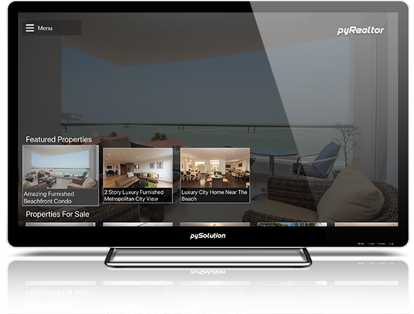 Mockup pyRealtor TV Property List