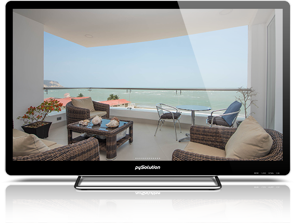 Mockup pyRealtor TV Property Slideshow