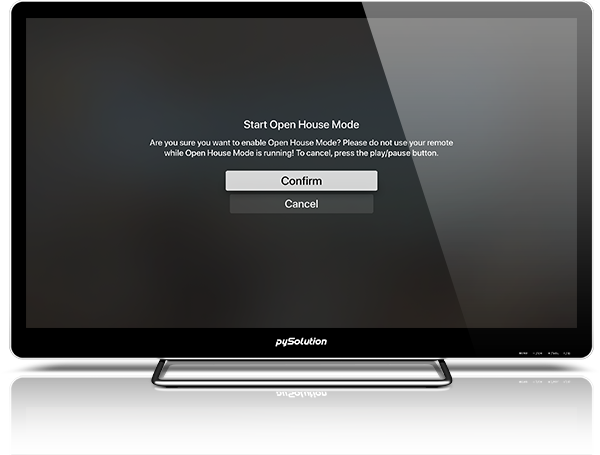 Mockup pyRealtor TV Application Request An Agent
